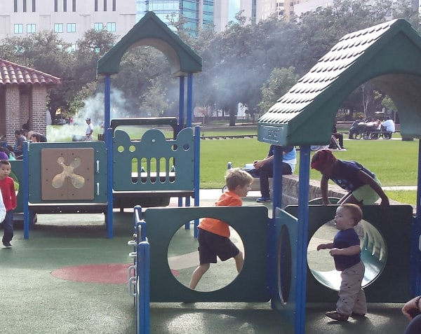 Hermann Park Toddler Playstructure