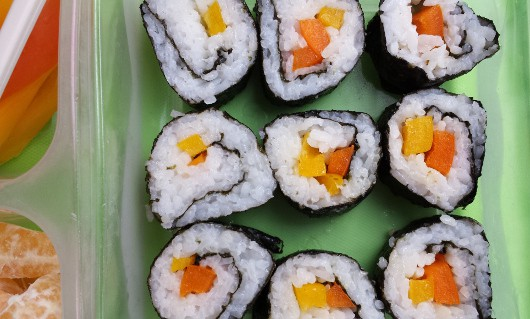 How to Make Sushi - Sliced Up Rolls