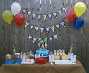 Jake tablescape