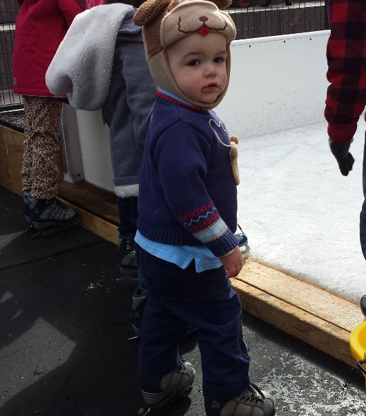 Baby James Ain't Afraid of No Ice