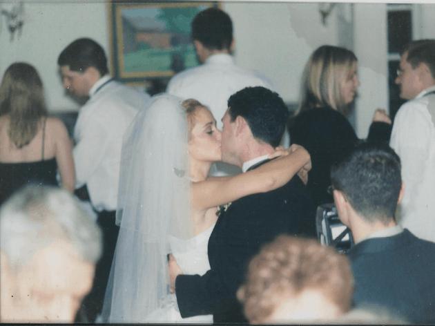 Jill and CJ Dancing at Wedding