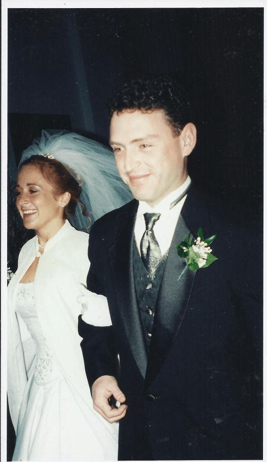 Jill and CJ Wedding