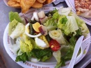 Salad at Twiga Cafe