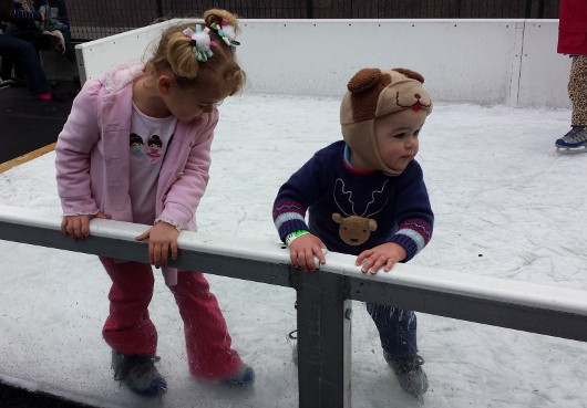 Toddler Ice Rink at Discovery Green