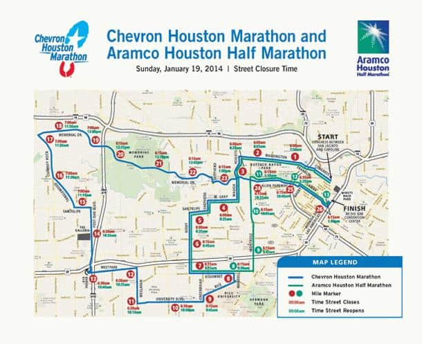Houston Marathon 2014