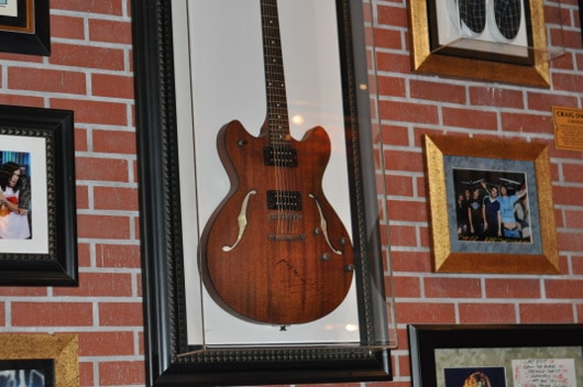 Guitar at Hard Rock Cafe