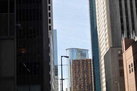 Houston Skyline from the Street