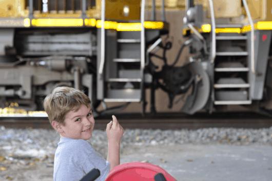 Joe and Freight Train at UHD