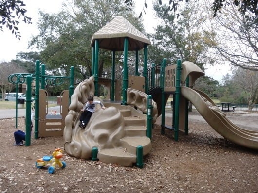 Old Braeswood Park Push Toys