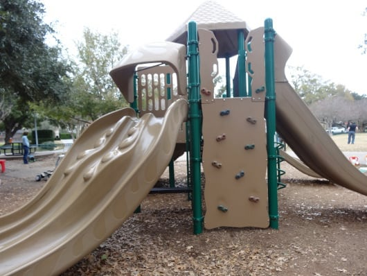 Old Braeswood Park Rock Wall