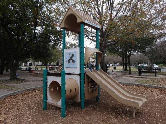 Old Braeswood Park Small Slide