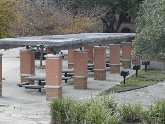 Picnic Tables at Levy Park