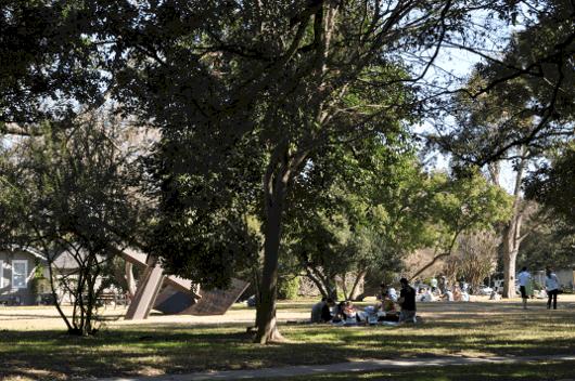 Picnic at Menil Park