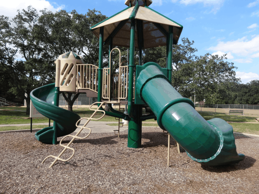 Playground Equipment at Levy Park
