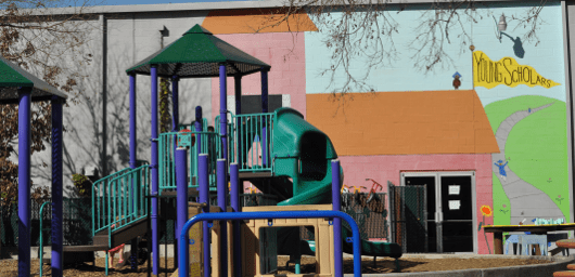 Playground at Young Scholars Spark Park