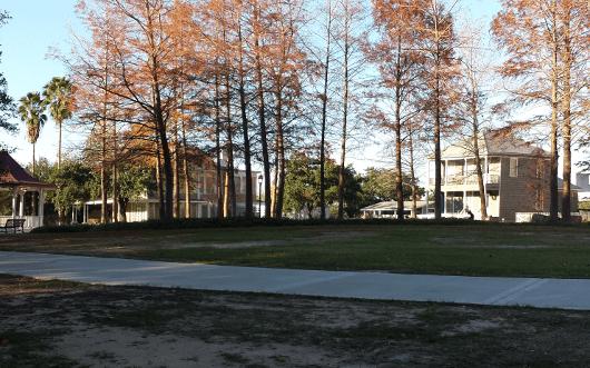 Sam Houston Park in Downtown Houston
