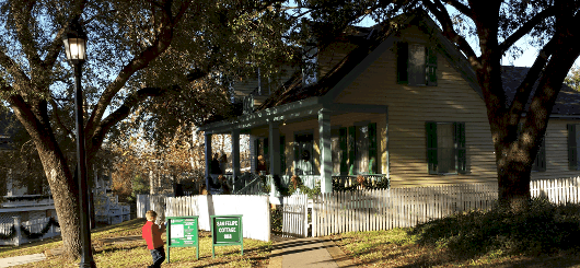 San Felipe Cottage at Sam Houston Park