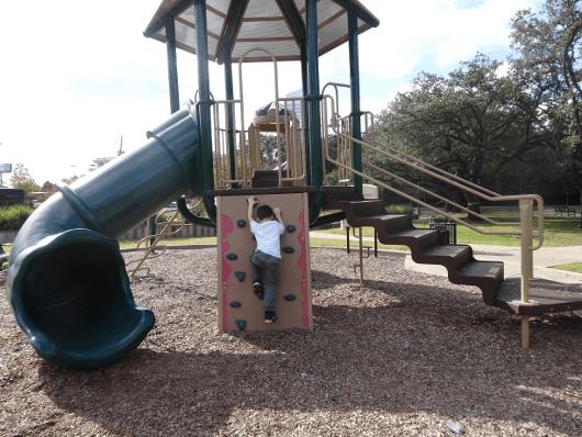 Slide at Levy Park Houston