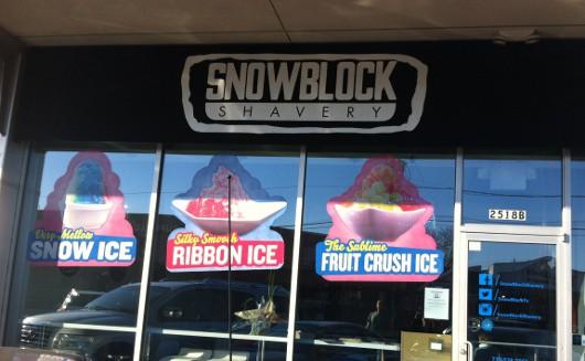 Snowblock Shavery