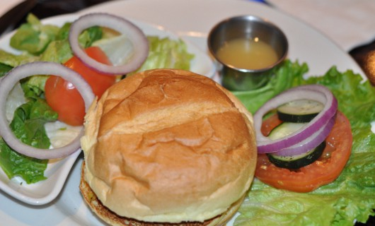 Veggie Burger at Hard Rock Cafe