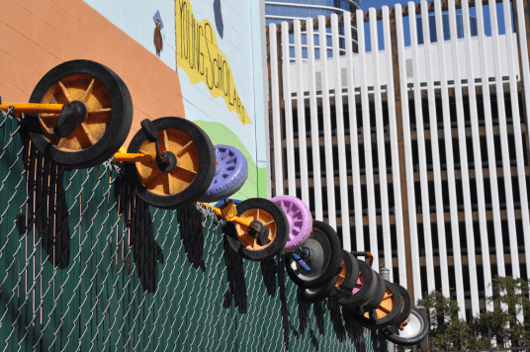 Wheels at Young Scholars Spark Park