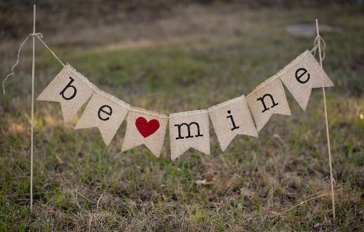 Be Mine Banner Sarah Allen