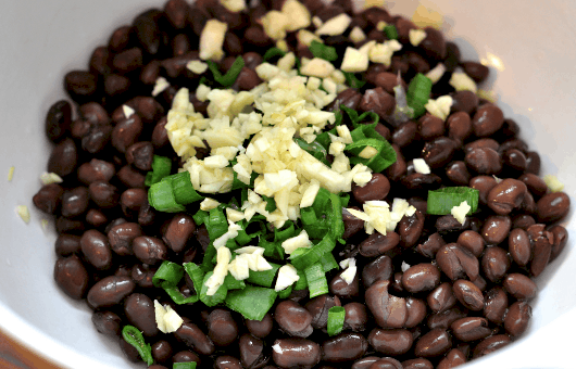 Black Beans for Enchiladas