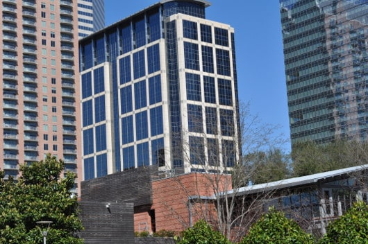 Buildings From at Discovery Green