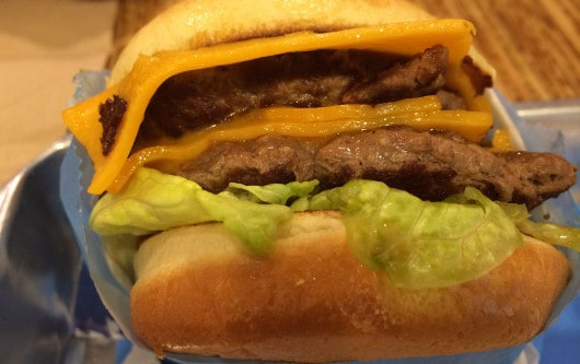 Elevation Burger Cheeseburger