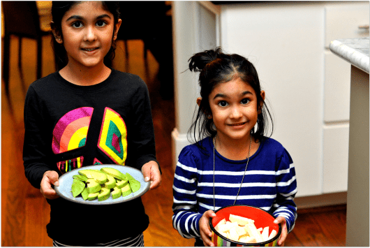 Pretty Girls Making Dinner