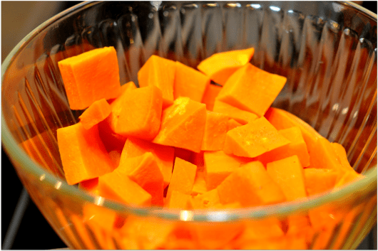 Sweet Potatoes for Enchiladas