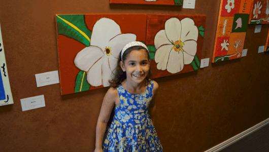 Artist at Young Artist Art Studio