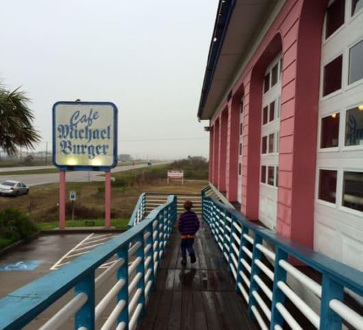 Cafe Michael Burger in Galveston