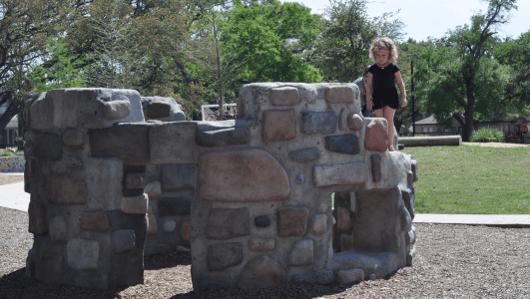 Castle at Wilson Spark Park