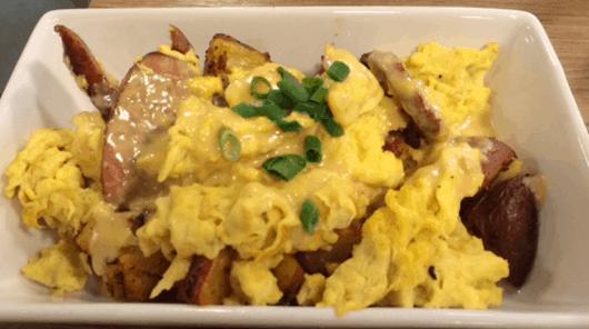 Egg Scramble at MKT Bar
