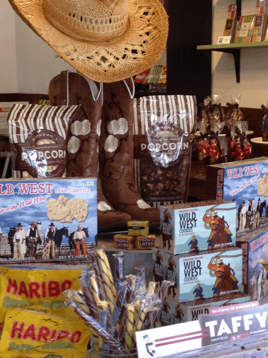 Heights Candy Bar Rodeo Candy Chocolate Cowboy Boots