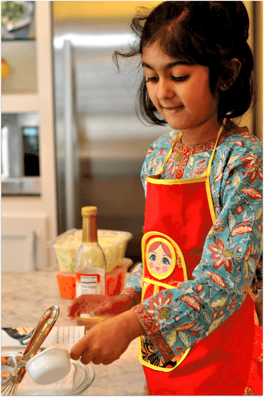 Measuring Ingredients for Dinner