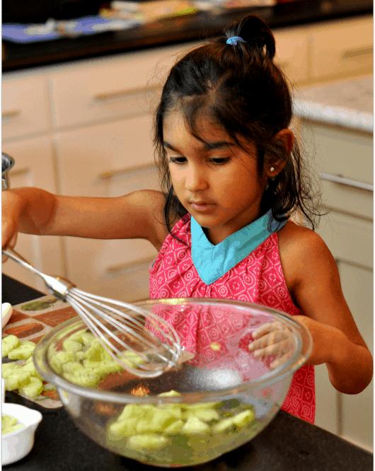 Mixing Cucumbers