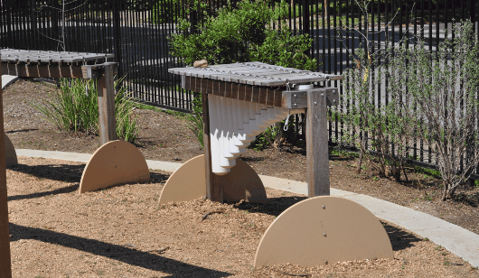 Music Stations at Wilson Spark Park