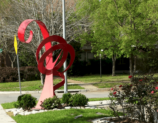 Red Sculpture