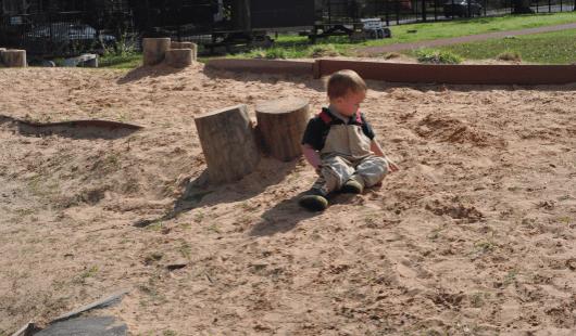 Sand Box at Wilson Spark Park