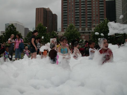 Toddler Tuesday Foam Party for Button5