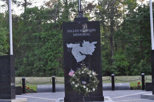 Fallen Solders Monument at CyChamp Park