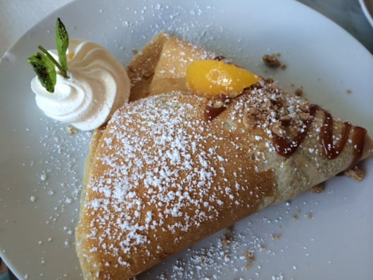 Fruit Crepe from Sweet Paris