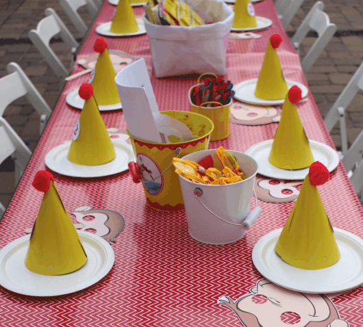 Julie Verville Curious George Table Feature
