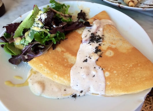 Savory Crepe from Sweet Paris