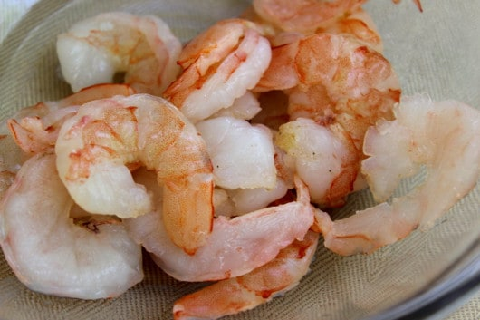 Shrimp for Spring Rolls