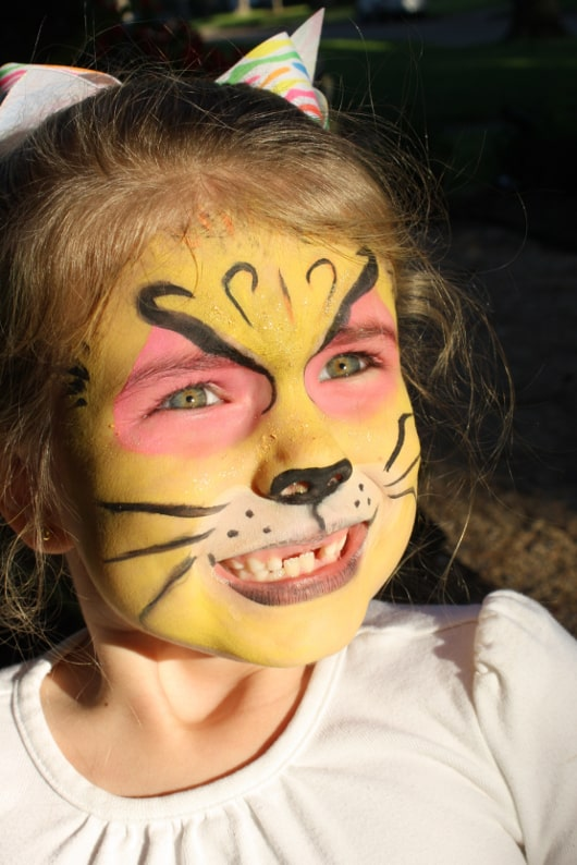 Stormy Gilliam Facepainting Lion