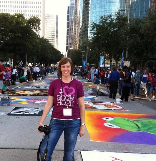 Vicki Powers at Via Colori 2012