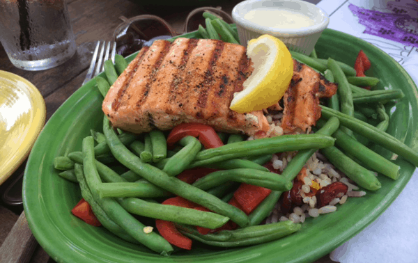 Barnabys Grilled Salmon